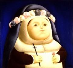 Botero - Santa Rosa de Lima según Vásquez - 1966