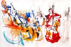 """Obra da Exposição """"Desenhos de Concertos"""""""