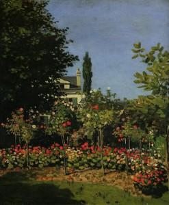 Monet - Garden in Flower