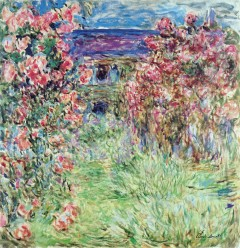 Monet -Das Haus in den Rosen