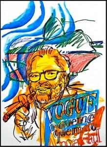 Ilustração Revista Vogue