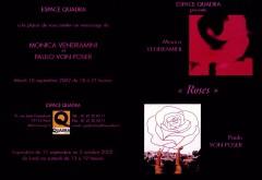 """Convite exposição """"Roses"""", em Paris (CLIQUE NA IMAGEM PARA LER)"""