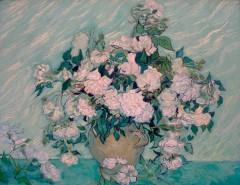 Vincent van Gogh - White Roses - 1890