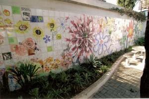 Detalhe do Painel de Azulejos da Avenida Doutor Arnaldo