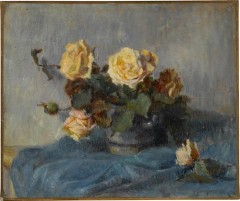 Paul Cezanne - Rose Bouquet - 1884