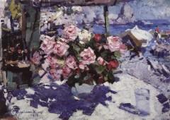 Konstantin Korovin - Roses - 1912