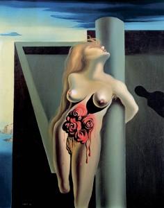 Salvador Dalí - The Bleeding Roses
