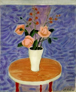 Alfredo Volpi - Vaso com Flores