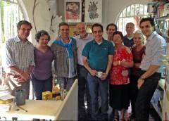 José Armenio, Maria Luiza, Paulo von Poser, Eduardo Scott e Vladmir, Regina Rosa, Marcos Audrighi, Claudia Braga e Gabriel Chalita.