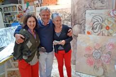 Marcia, Rui e Heloísa Coutinho.