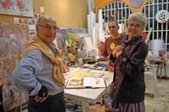 Ugo Castellana, Victor Tronconi e Lucy.