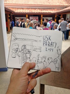 1 URBANSKETCHERS PARATY 2014