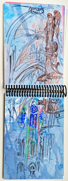 PARIS-2011-(3) SKETCHBOOK - VIAGENS