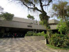 Fachada do SESC Santos